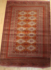 Persian Balouch Hand-knotted Rug Wool on Wool (ID 1151)