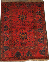 Persian Baluch(khan mohammadi) Hand-knotted Rug Wool on Wool (ID 1262)