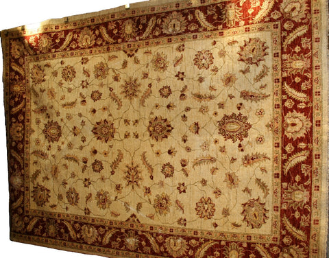 Persian Baluch Hand-knotted Rug Wool on Cotton (ID 1181)