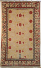 Persian Balouch Hand-knotted Rug Wool on Wool (ID 211)