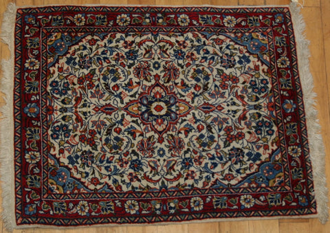 Persian Bijar Hand-knotted Rug Wool on Cotton (ID 1141)