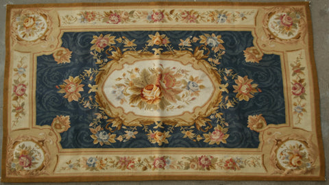 France  Hand-knotted Tapestry Wool on Wool (ID 1263)