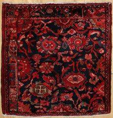 Persian Hamedan Hand-knotted Rug Wool on Cotton (ID 1025)