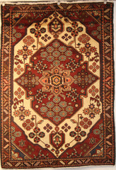 Persian Hamedan Hand-knotted Rug Wool on Cotton (ID 1254)