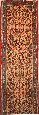 Persian Hamedan Hand-knotted Runner Wool on Cotton (ID 1304)