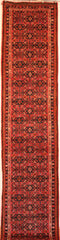 Persian Hamedan Hand-knotted Runner Wool on Cotton (ID 75)