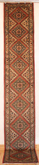 Persian Hamedan Hand-knotted Runner Wool on Cotton (ID 53)