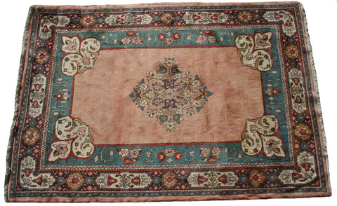 Persian Hamedan Hand-knotted Rug Wool on Cotton (ID 168)
