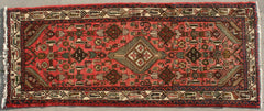 Persian Hamedan Hand-knotted Runner Wool on Cotton (ID 1294)