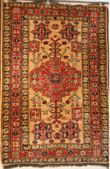 Kazak Astana Hand-knotted Rug Wool on Wool (ID 308)