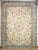 Persian Naein Hand-knotted Rug Wool and Silk on Cotton (ID 1020)
