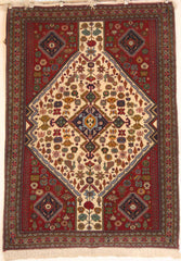 Persian NazemKashkuli Hand-knotted Rug Wool on Cotton (ID 221)