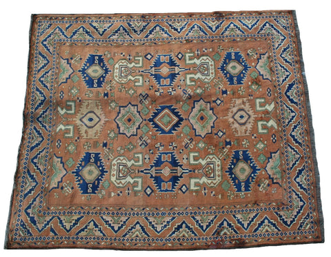Persian Qashqai Hand-knotted Rug Wool on Wool (ID 1206)