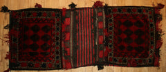 Persian Qashqai Hand-knotted Khorjin Wool on Wool (ID 1270)