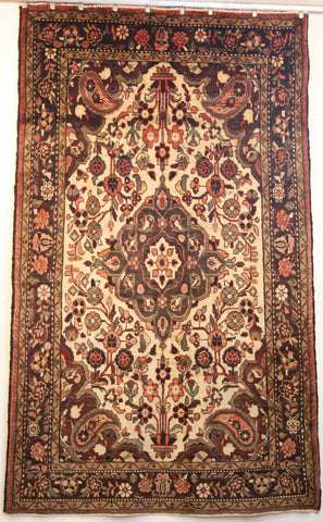 Persian Qashqai Hand-knotted Rug Wool on Cotton (ID 1236)