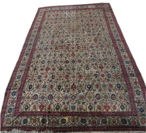 Romanian Bukharest Hand-knotted Rug Wool on Cotton (ID 324)