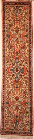 Persian Sanneh Hand-knotted Runner Wool on Cotton (ID 61)