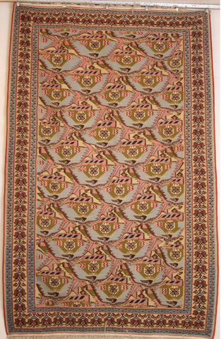 Persian Sanneh Hand-knotted Kilim Wool on Wool (ID 238)
