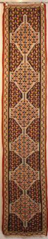 Persian Sanneh Hand-knotted Kilim Wool on Wool (ID 1080)