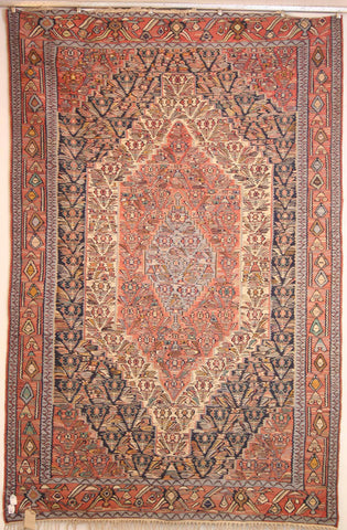 Persian Sanneh Hand-knotted Kilim Wool on Wool (ID 243)