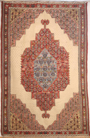 Persian Sanneh Hand-knotted Rug Wool on Wool (ID 266)