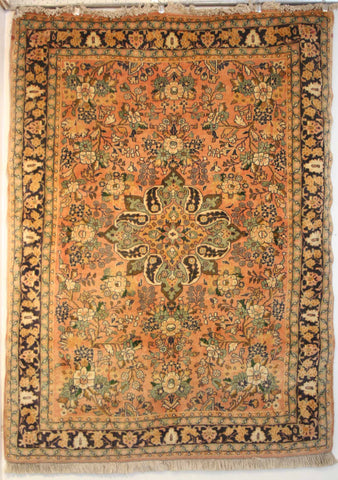 Persian Sarough Hand-knotted Rug Wool on Cotton (ID 200)