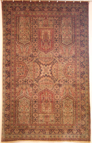 Persian Sarough Hand-knotted Rug Wool on Cotton (ID 183)
