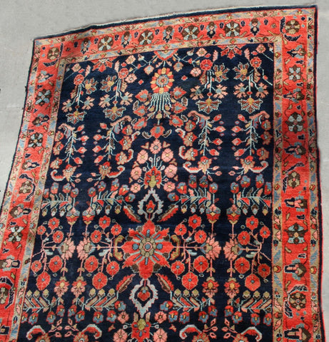 Persian Sarough Hand-knotted Rug Wool on Cotton (ID 1214)