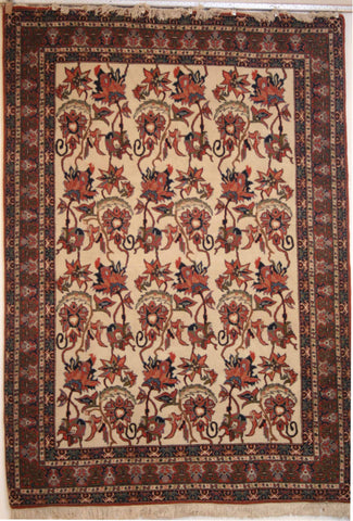 Persian Sarough Hand-knotted Rug Wool on Cotton (ID 119)