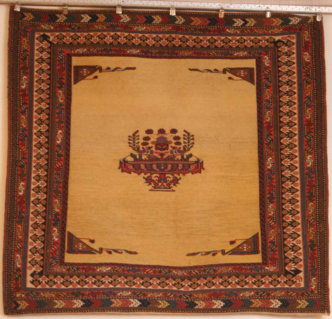 Persian Dasht-e-moghan Hand-knotted Suzani Wool on Wool (ID 234)