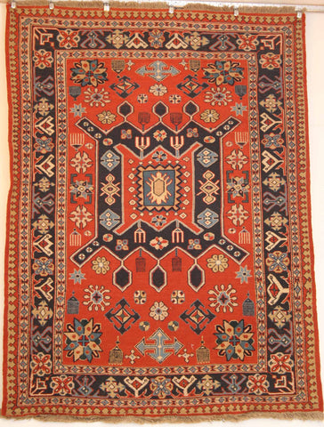 Persian Dasht-e-moghan Hand-knotted Suzani Wool on Wool (ID 244)