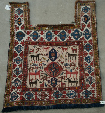 Persian Dasht-e-moghan Hand-knotted Suzani Wool on Wool (ID 1131)