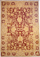 Persian Tabriz Hand-knotted Rug Wool on Cotton (ID 298)