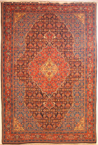 Persian Tabriz Hand-knotted Rug Wool on Cotton (ID 301)