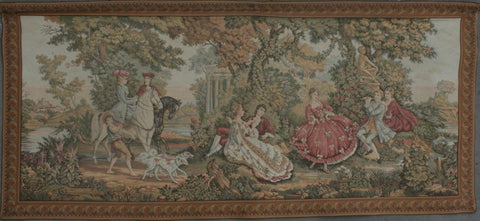 France  Hand-knotted Tapestry Wool on Cotton (ID 1257)