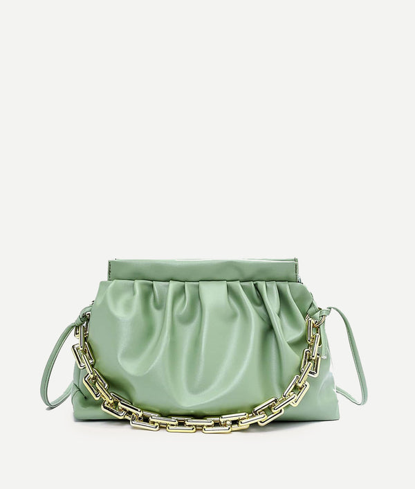 Ruched crossbody