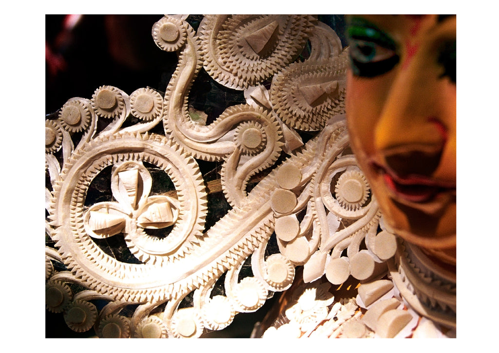 Durga with Head Gear Detail - Surmrit Gallery of Art & Design