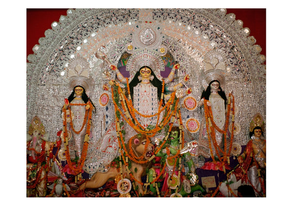 Ornate Durga - Surmrit Gallery of Art & Design