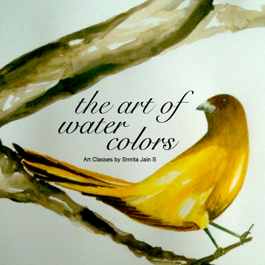 The Art of Water Colors - Surmrit Gallery of Art & Design