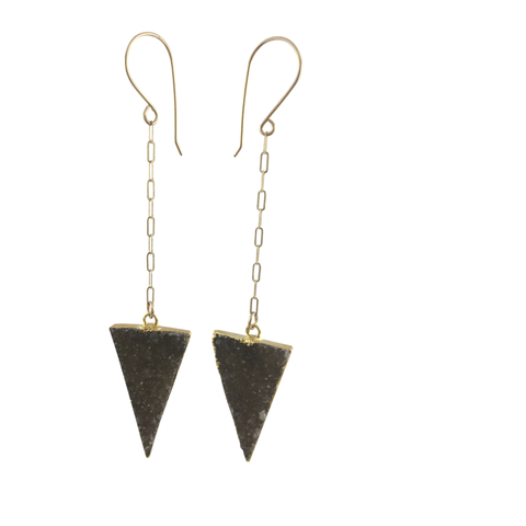 pointed earrings