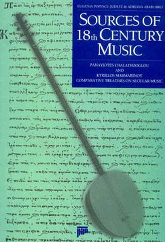 Sources Of 18th Century Music - By Eugenia Popescu-Judetz