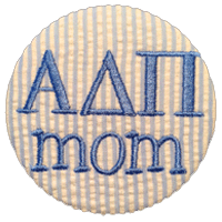 Alpha Delta Pi - Seersucker Mom