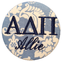Alpha Delta Pi - Name Tag