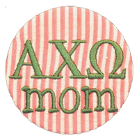 Alpha Chi Omega - Seersucker Mom