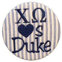 Blue & White Blue Devils - Blue Seersucker