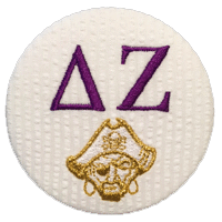 Purple & Gold Pirates - Delta Zeta Seersucker