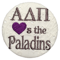 Purple & White Paladins - Alpha Delta Pi