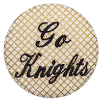 Black & Gold - Lattice Go Knights