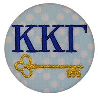 Kappa Kappa Gamma - Blue Dot Key