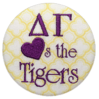 Purple & Gold Tigers - Yellow Clover